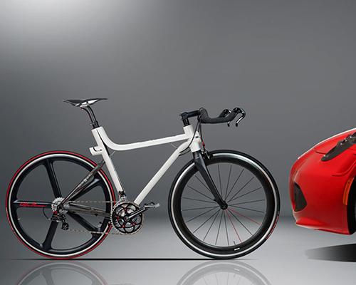 阿尔法罗密欧和Compagnia Ducale共同打造了一款IFD 4C型碳纤公路自行车