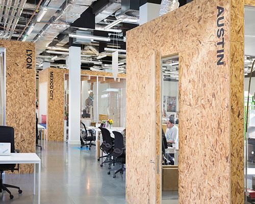 heneghan peng为 airbnb 都柏林办公区设计开放的合作办公空间