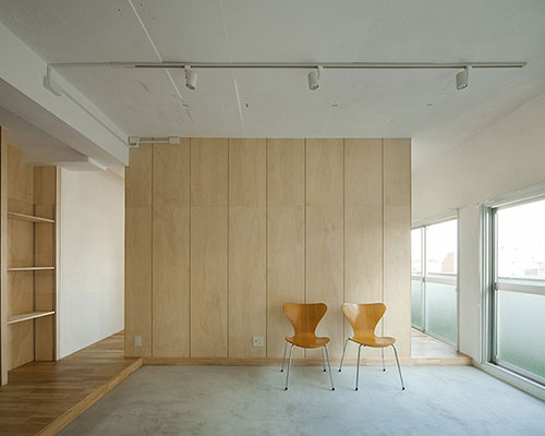 move design 设计的shimoo ri公寓弹性布局