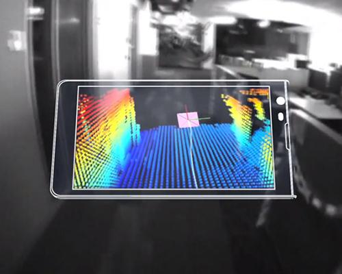 谷歌推出探戈项目—一款呈现三维环境的智能手机