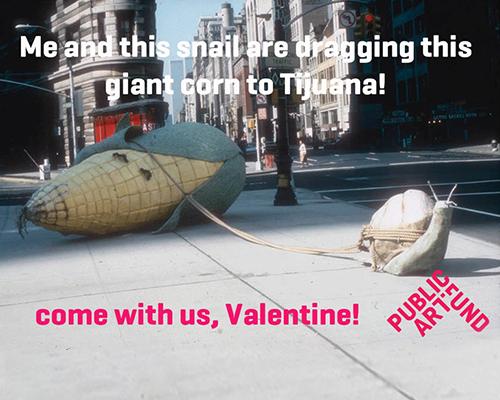 生活中 公共艺术 爱好者的情人节