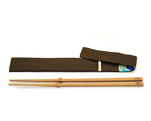 清庭(Dragonfly Design Center)石大宇设计—— 四节自立竹筷 (附特制筷套)