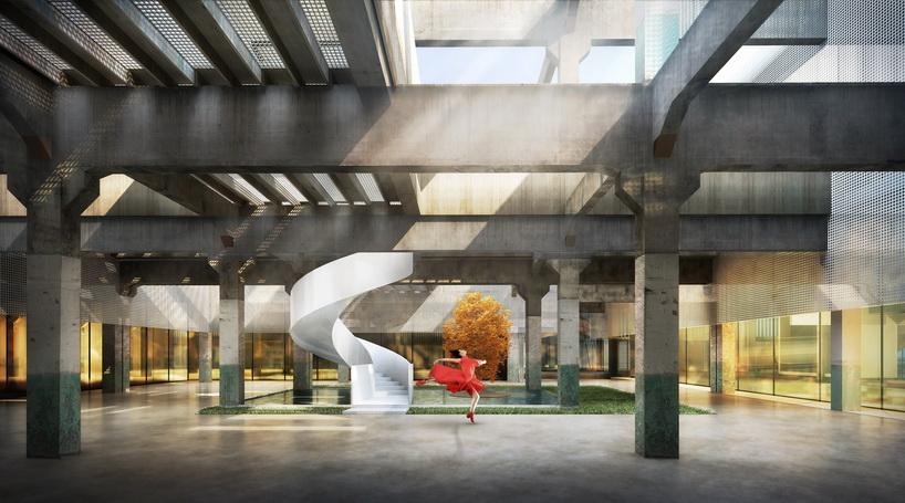天华 建筑设计公司改造了中国天津的一个纺织厂