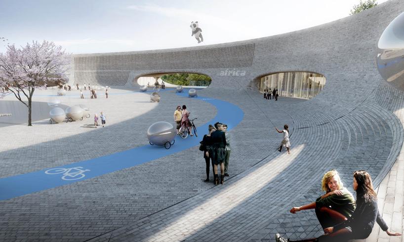 BIG建筑事务所 为丹麦Givskud动物园构思 动物乌托邦