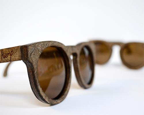 sam whitten设计出大麻亚麻纤维 太阳镜
