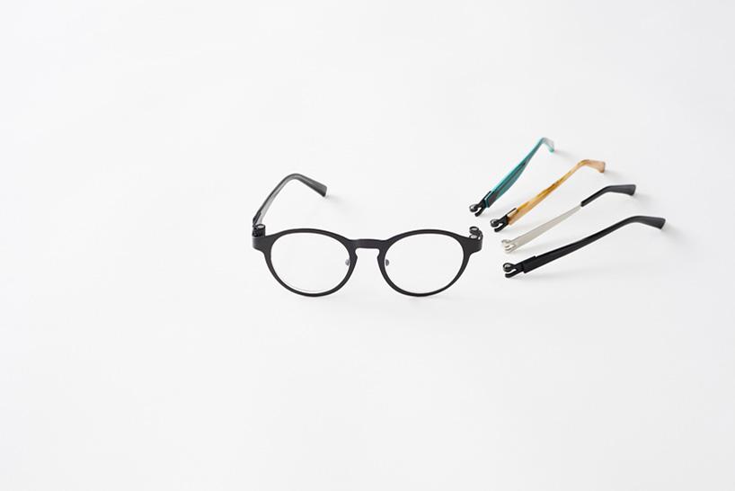 nendo 释出全新 magne-hinge 定制化眼镜