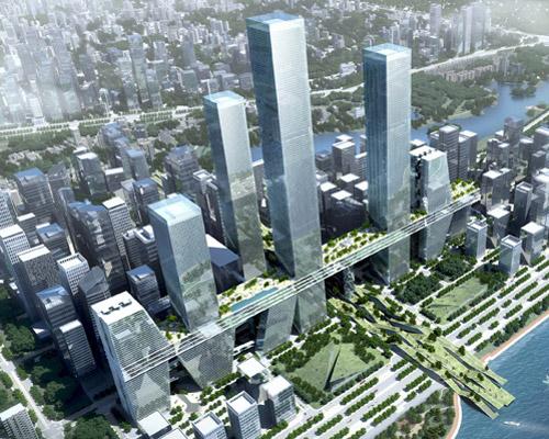 UNIT深圳单元建筑设计团队 深圳湾超级城市