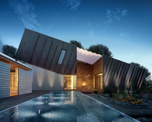 ZEB 建筑师斯诺赫塔在挪威拉维克设计的节能减排环保型住宅试点