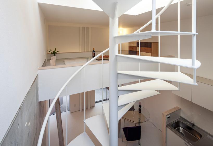 旋转楼梯可以节约空间