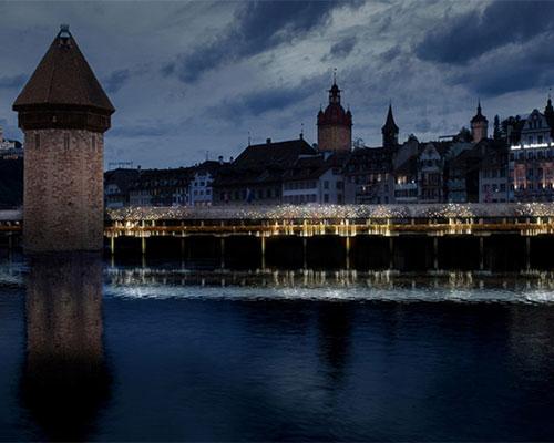 Drift工作室 在贝尔格莱德设计周展示卡贝尔桥灯光作品