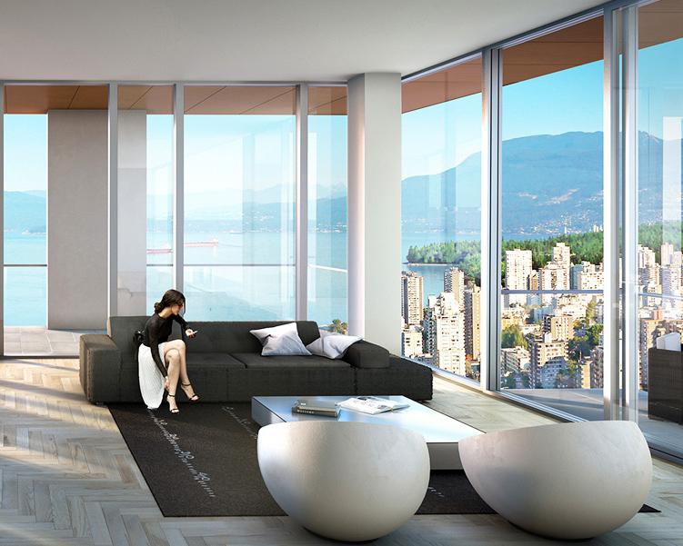 比亚克·英格尔斯bjarke ingels 工作室为温哥华一号公馆进行室内设计