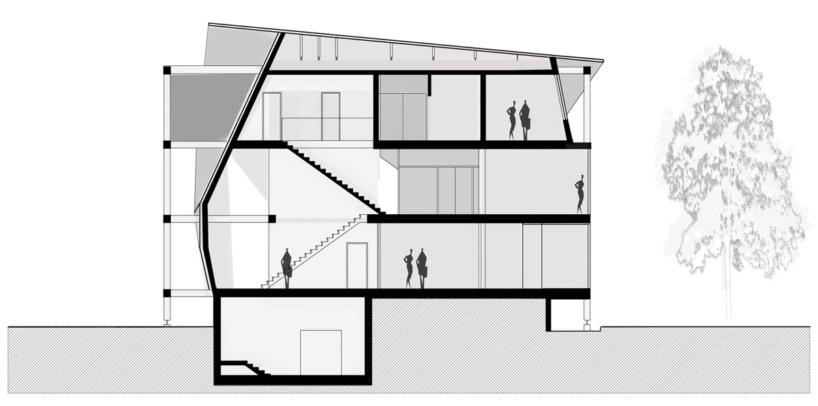建筑外形设计平面图
