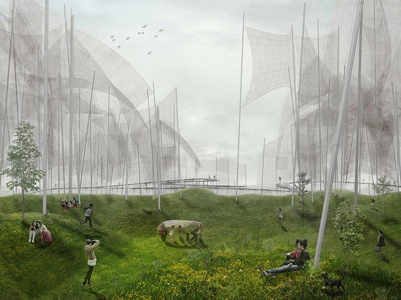 丹麦将充分利用风能建造 大地艺术公园图片
