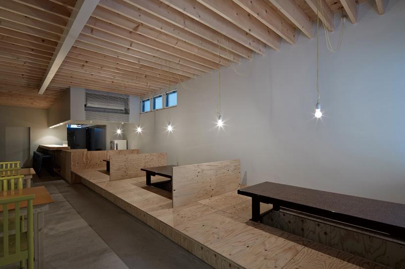 工作室为yokaya设计的餐厅与住所