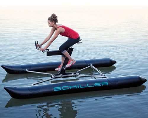 席勒运动(schiller sport )X1:水上自行车打造全新水上运动方式