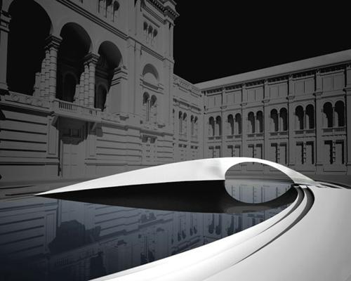 世界著名设计师扎哈·哈迪德设计的佳洁士馆亮相伦敦设计节
