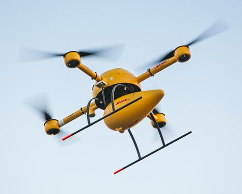 DHL parcelcopter2.0四旋翼无人驾驶机成功完成欧洲的首次送货任务