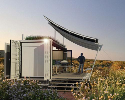 G-pod应用集装箱设计可移动的 家居模式