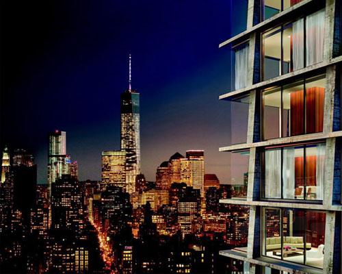 赫尔佐格&德梅隆 和约翰?帕森共同设计纽约克里斯蒂街215号的施拉格公寓