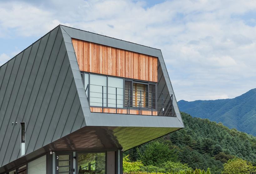 韩国玻璃房子图片