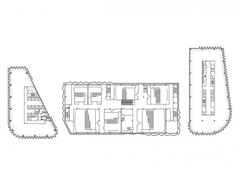 建筑设计体块分析