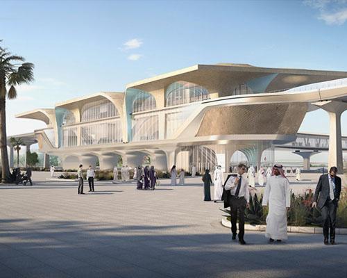 多哈地铁一期工程车站设计-----  UN 工作室