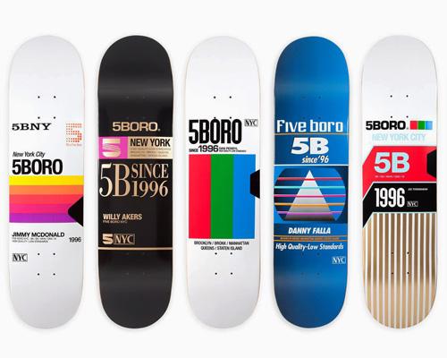 5BORO 追忆VHS录像带时期的滑板系列