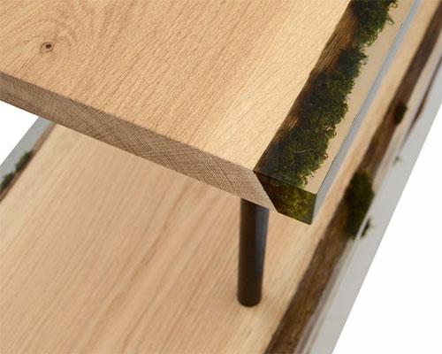 Alcarol 探索用青苔和苔藓制作家具的潜力
