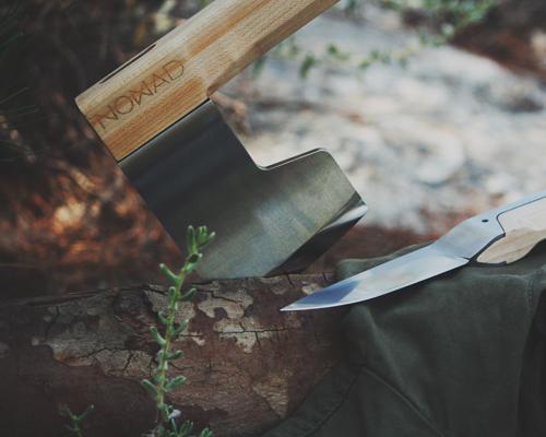 alexey pavo 为户外探险设计刀斧套装