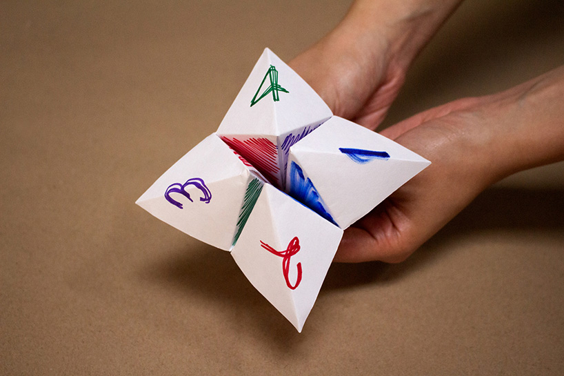 an interactive kinetic sculpture of origami-designboom-08