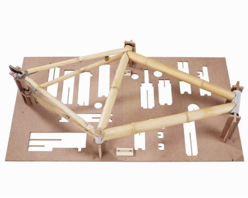 你想尝试吗? bamboobee 公司用竹子制作自行车配件让你体验自制环保自行车的乐趣,不亦乐乎!