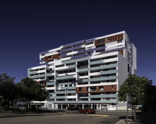 tony owen partners 事务所在悉尼建造模糊对焦公寓