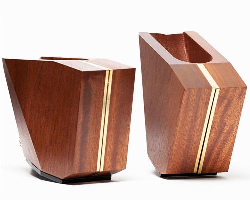 cat potter 用木材和可丽耐精心打造几何造型鞋履