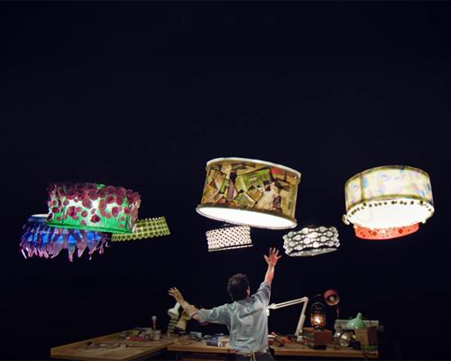 苏黎世联邦理工大学为太阳马戏团制作提供的四旋翼 无人飞行器 ,让五彩缤纷的灯罩在夜空中飞舞