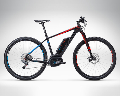 CUBE的Elite Hybrid 电动山地自行车 赢得2014年欧洲国际自行车展金奖