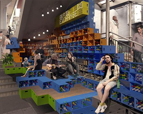 世界最长 自动扶梯 系统的复兴—— daydreamers design