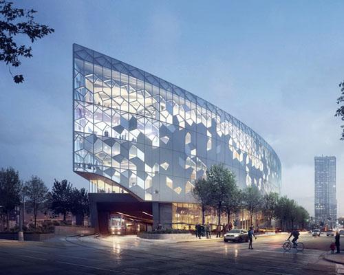 snohetta + DIALOG设计的 卡尔加里新中央图书馆 赢得竞标