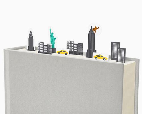 duncan shotton 将城市风景变作书签