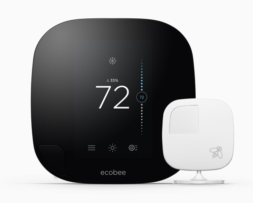 Ecobee推出新的智能恒温器 ecobee 3 ,利用无线传感器覆盖全家