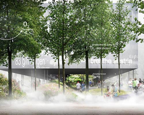 奥地利馆为 2015年米兰世博会 打造森林感官之旅