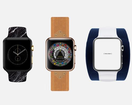 flnz lo模拟各著名时装设计师设计不同版本的苹果手表