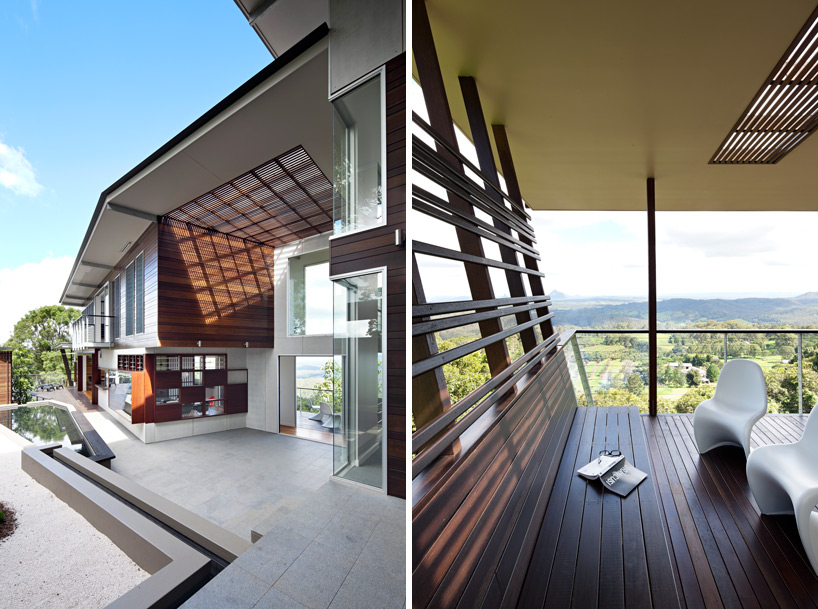 glass house mountain house-designboom-05
