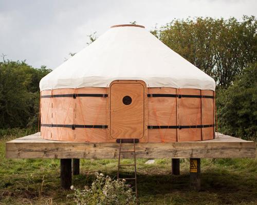 蒙古包式帐篷 jero 带你体验游牧般的生活方式