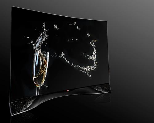LG公司联手施华洛世奇共同打造限量版 OLED 曲面电视