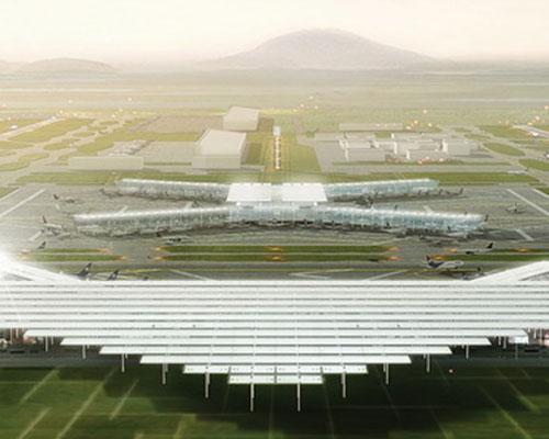 JAHN + LOGUER + ADG新墨西哥城 机场 联合设计方案