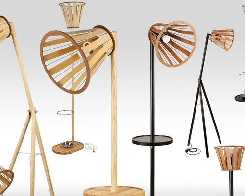 milica maric 推出可调节气氛的多功能wood mood灯