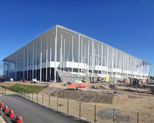 Herzog & de Meuron建筑事务所 设计的新波尔多体育场的施工进度