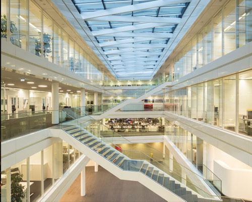 gmp architekten设计的 trianel 新总部大楼在德国亚琛开业