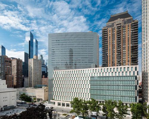贝·考伯·弗里德及合伙人建筑师事务所设计的纽约新福特汉姆法学院落成并启用