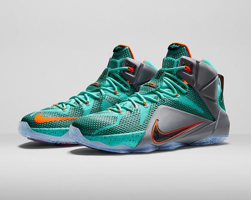 耐克发布新款篮球鞋lebron 12 :引爆新战能